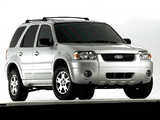 Images of Ford Escape Limited 2004–07