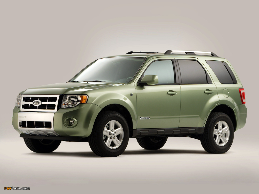 Images of Ford Escape Hybrid 2007–12 (1024 x 768)