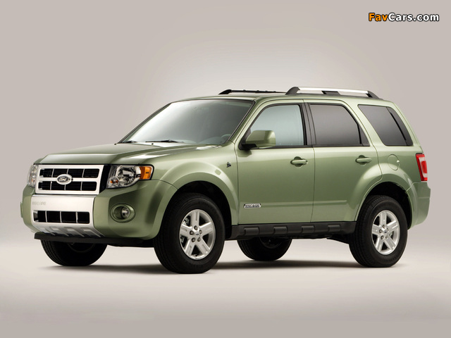 Images of Ford Escape Hybrid 2007–12 (640 x 480)