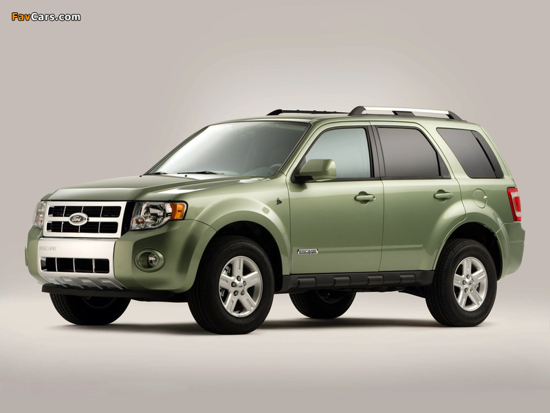 Images of Ford Escape Hybrid 2007–12 (800 x 600)
