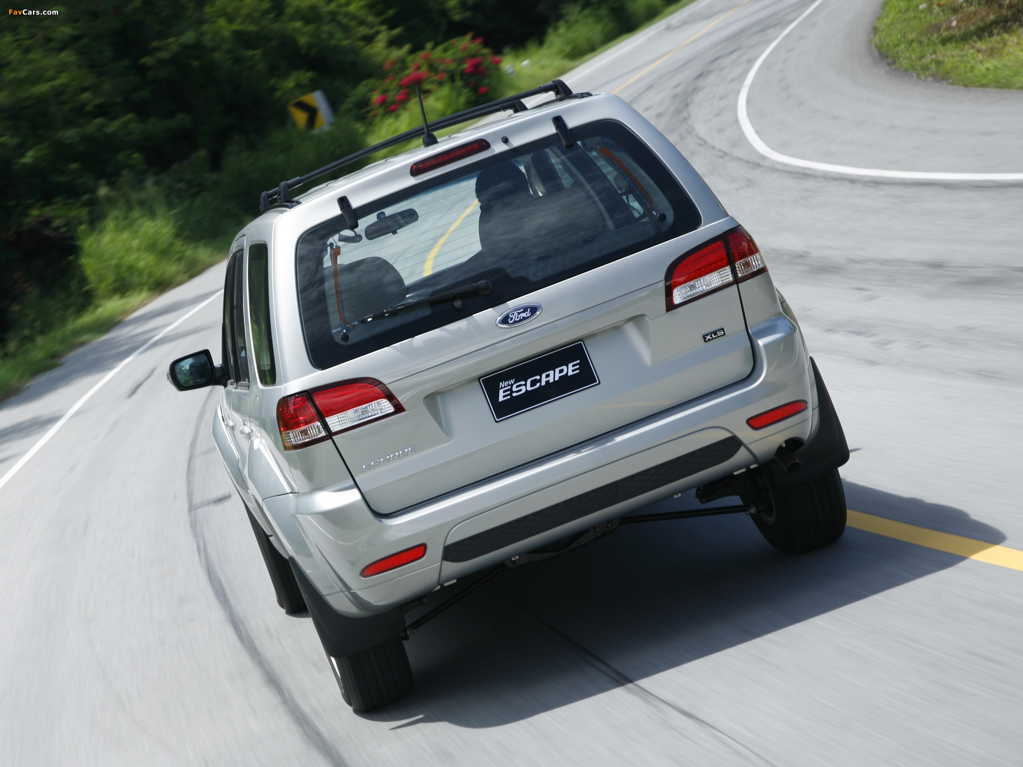 Images of Ford Escape TH-spec (ZD) 2008–10 (2048 x 1536)