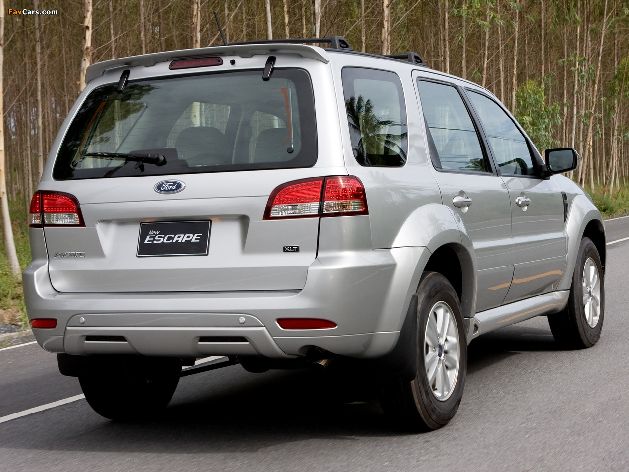 Images of Ford Escape TH-spec (ZD) 2008–10 (1280 x 960)