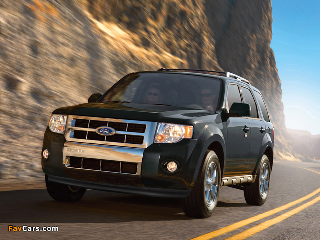 Photos of Ford Escape 2007–12 (640 x 480)