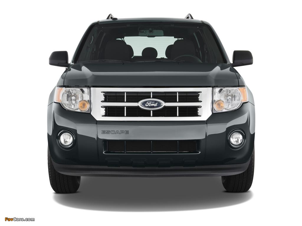 Photos of Ford Escape 2007–12 (1024 x 768)
