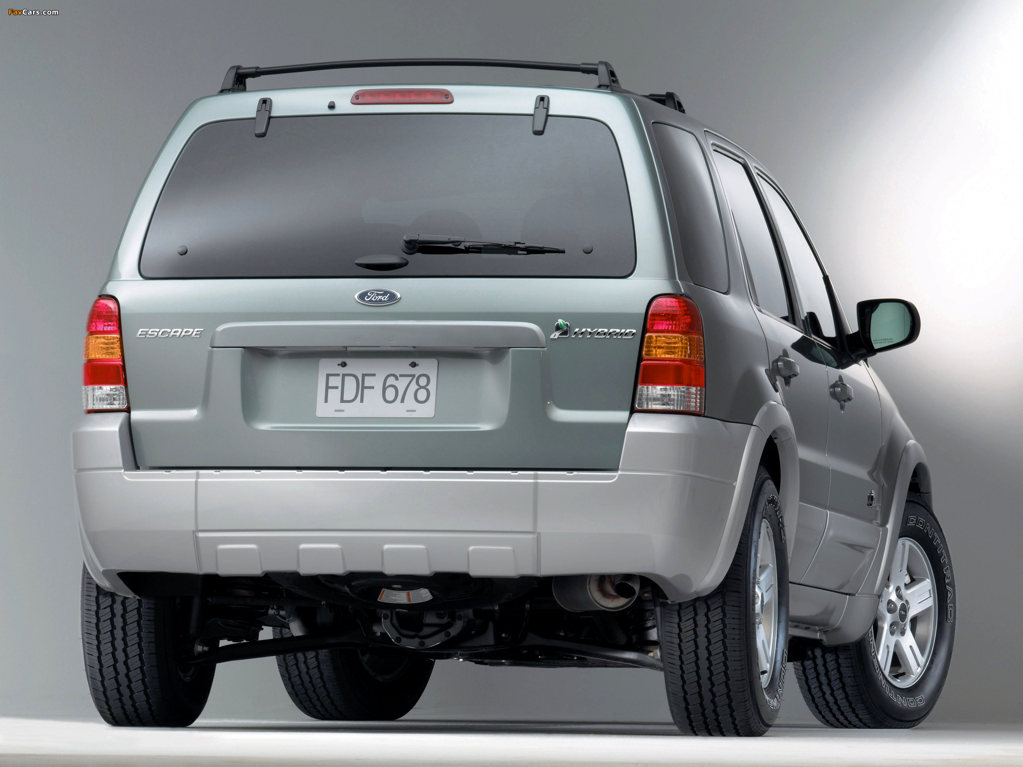 Pictures of Ford Escape Hybrid 2004–07 (2048 x 1536)