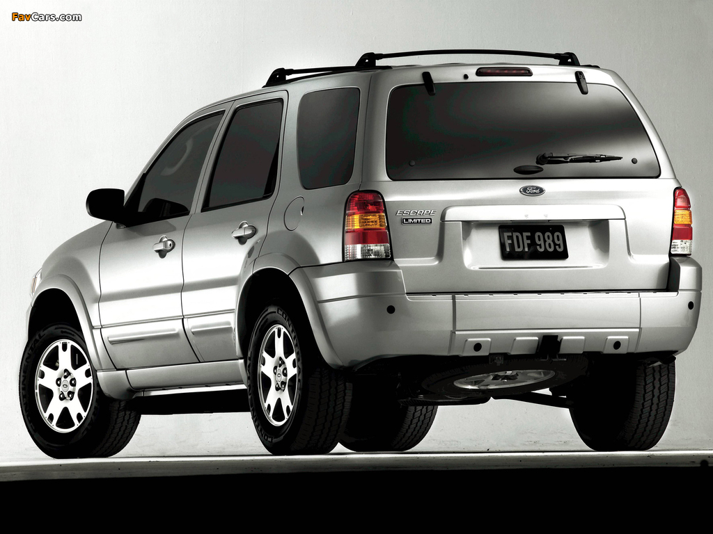 Pictures of Ford Escape Limited 2004–07 (1024 x 768)
