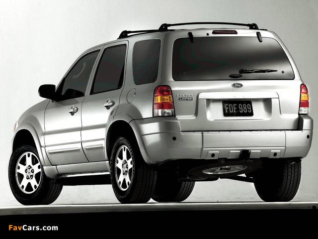 Pictures of Ford Escape Limited 2004–07 (640 x 480)