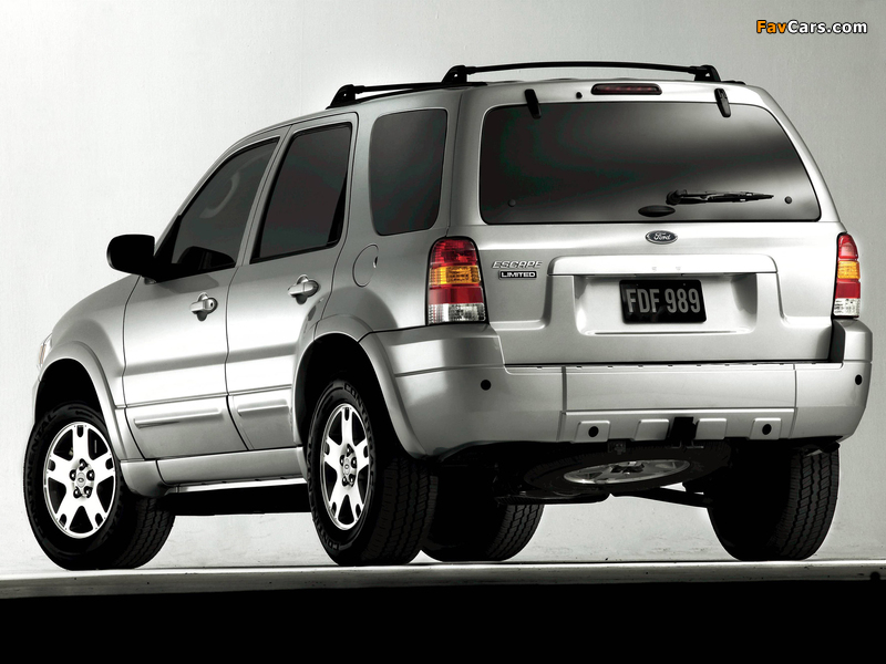 Pictures of Ford Escape Limited 2004–07 (800 x 600)