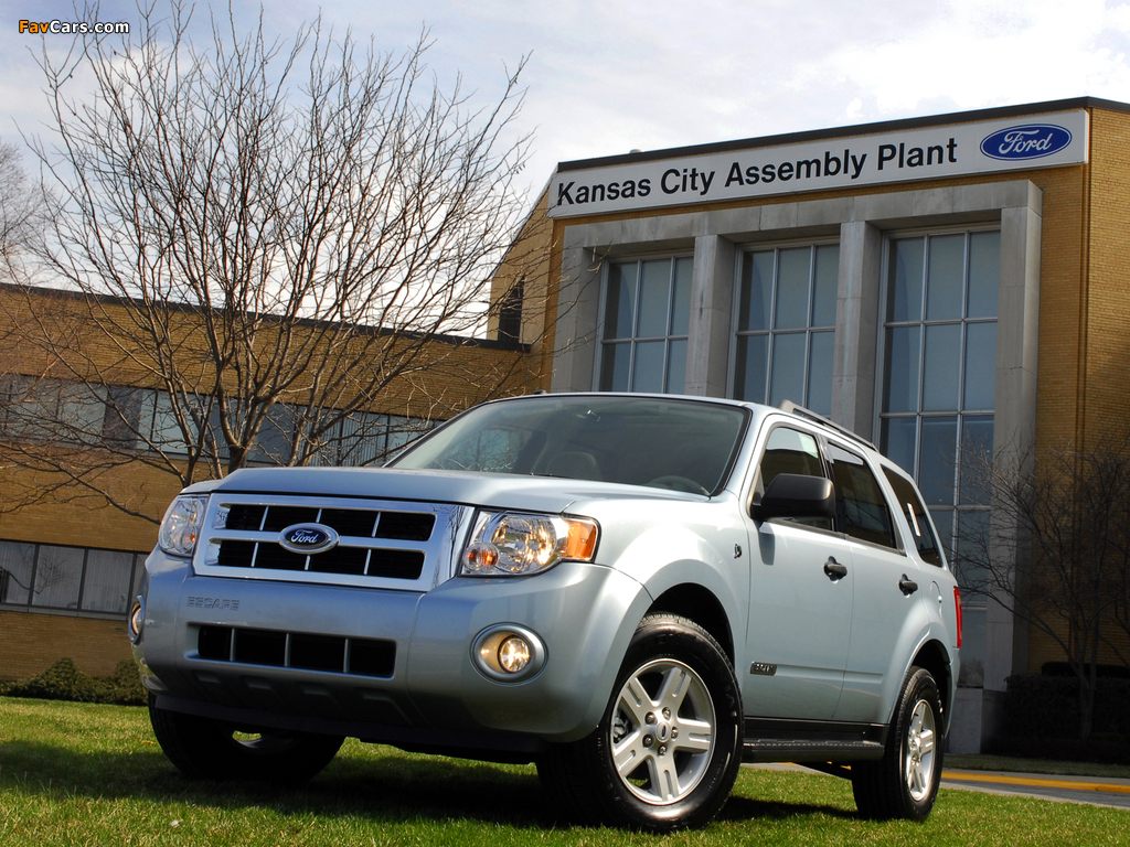 Pictures of Ford Escape Hybrid 2007–12 (1024 x 768)
