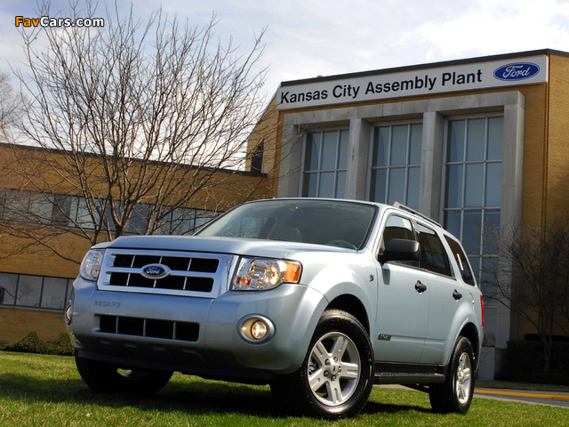Pictures of Ford Escape Hybrid 2007–12 (640 x 480)