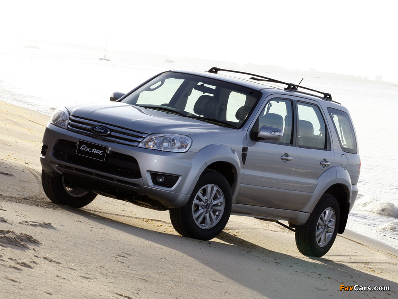 Pictures of Ford Escape TH-spec (ZD) 2008–10 (800 x 600)