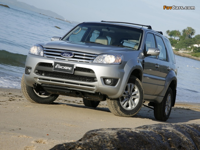 Pictures of Ford Escape TH-spec (ZD) 2008–10 (640 x 480)