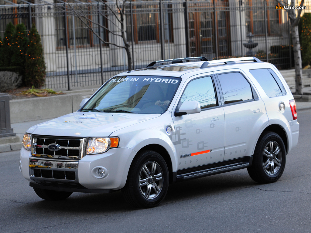 Pictures of Ford Escape Plug-In Hybrid 2008–12 (1024 x 768)