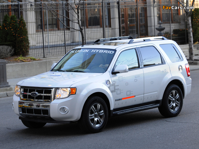 Pictures of Ford Escape Plug-In Hybrid 2008–12 (640 x 480)