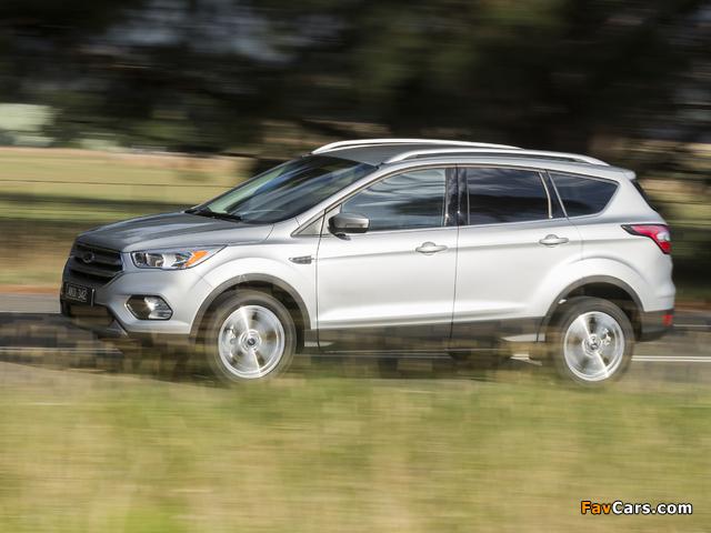 Pictures of Ford Escape Trend AU-spec 2016 (640 x 480)
