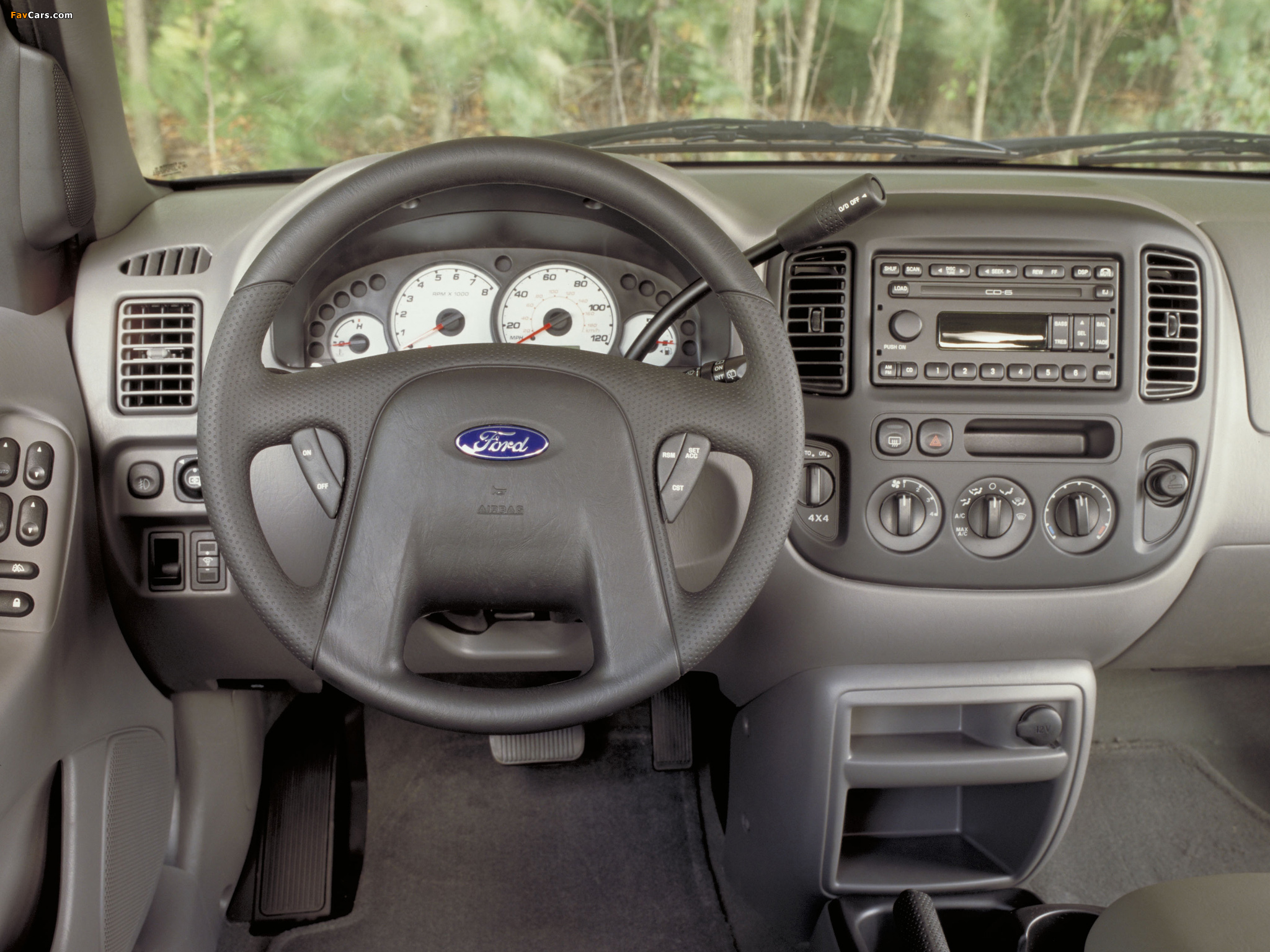 Ford Escape 2000–04 wallpapers (2048 x 1536)