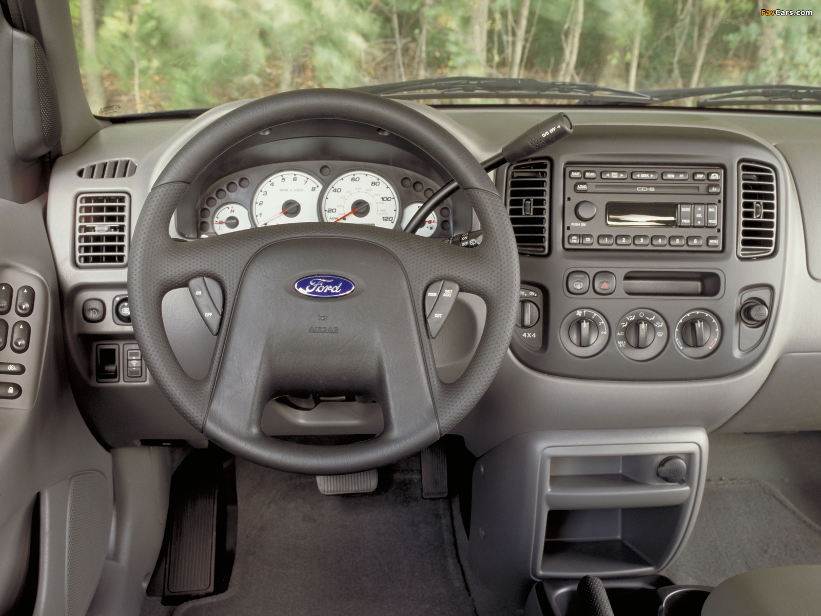 Ford Escape 2000–04 wallpapers (1600 x 1200)
