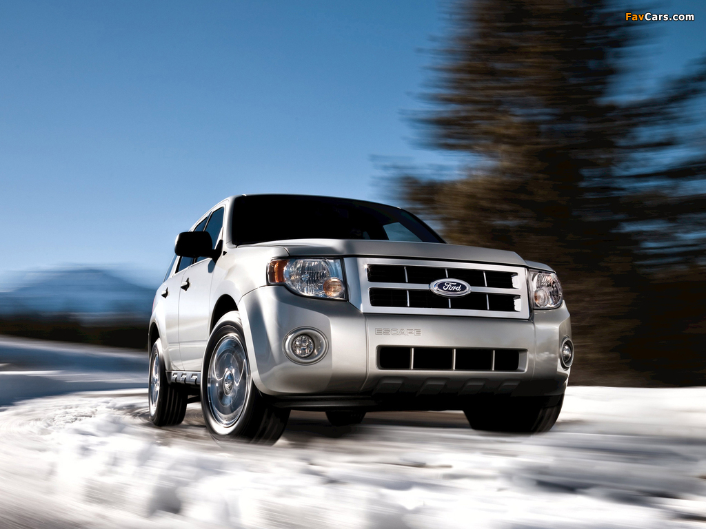 Ford Escape 2007–12 wallpapers (1024 x 768)