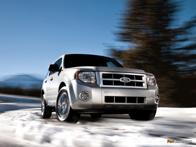 Ford Escape 2007–12 wallpapers (800 x 600)