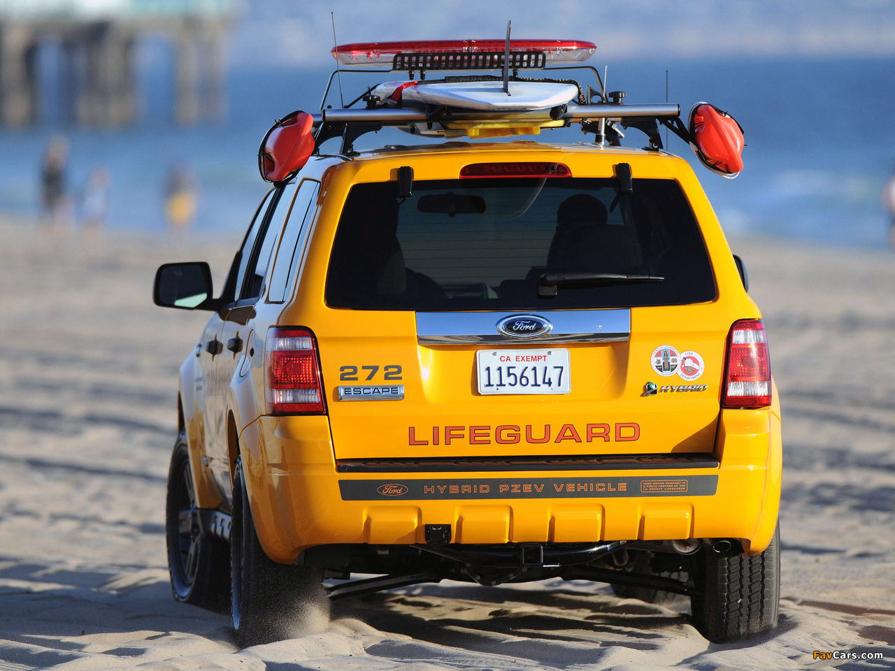 Ford Escape Hybrid Lifeguard 2008–12 wallpapers (1280 x 960)