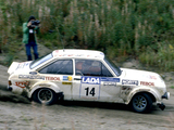 Images of Ford Escort RS1800 Rally Car 1975–82