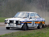 Photos of Ford Escort RS1800 Rally Car 1975–82