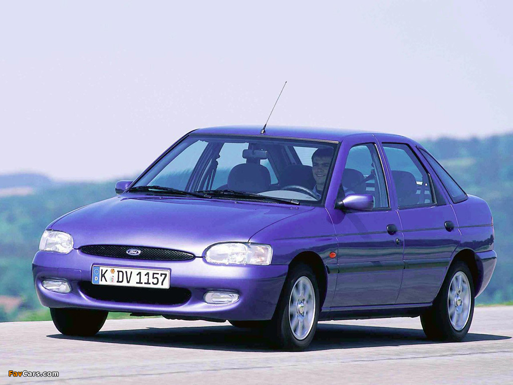 Ford Escort '1992–95 - autowp.ru