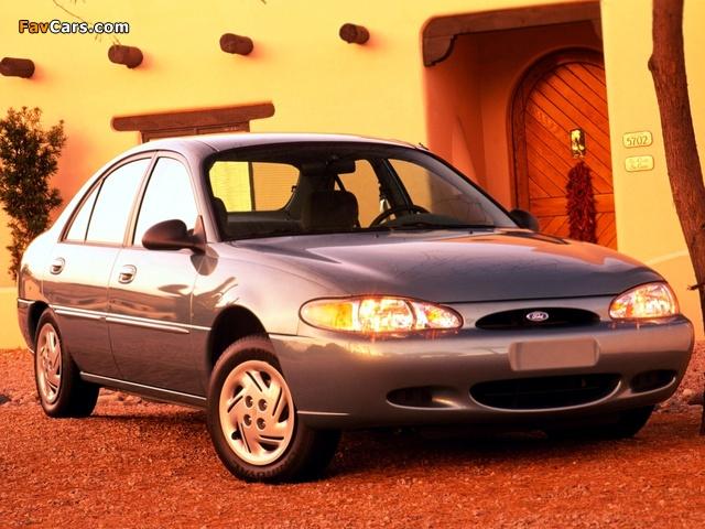 Ford Escort 1997–2002 photos (640 x 480)