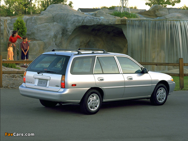 Pictures of Ford Escort Wagon 1997–99 (640 x 480)
