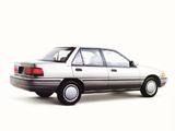 Ford Escort LX Sedan 1992–96 wallpapers
