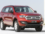 Images of Ford Everest Ambiete AU-spec 2015