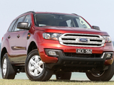 Photos of Ford Everest Ambiete AU-spec 2015