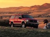 Ford Excursion Eddie Bauer 2003–04 wallpapers