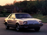Pictures of Ford EXP 1982–85
