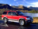 Ford Explorer UK-spec 1995–2001 images