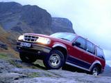 Ford Explorer UK-spec 1995–2001 photos
