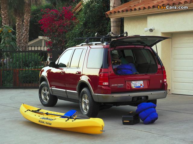 Ford Explorer 2001–05 images (640 x 480)