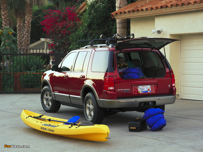 Ford Explorer 2001–05 images (800 x 600)