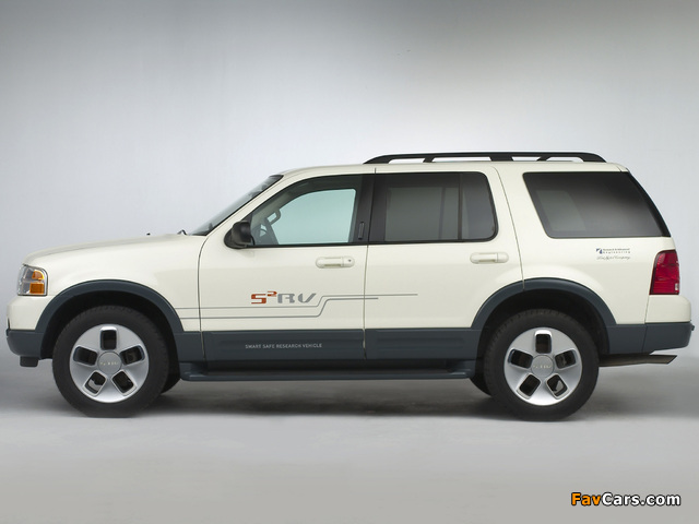 Ford Explorer S2RV Concept 2003 images (640 x 480)