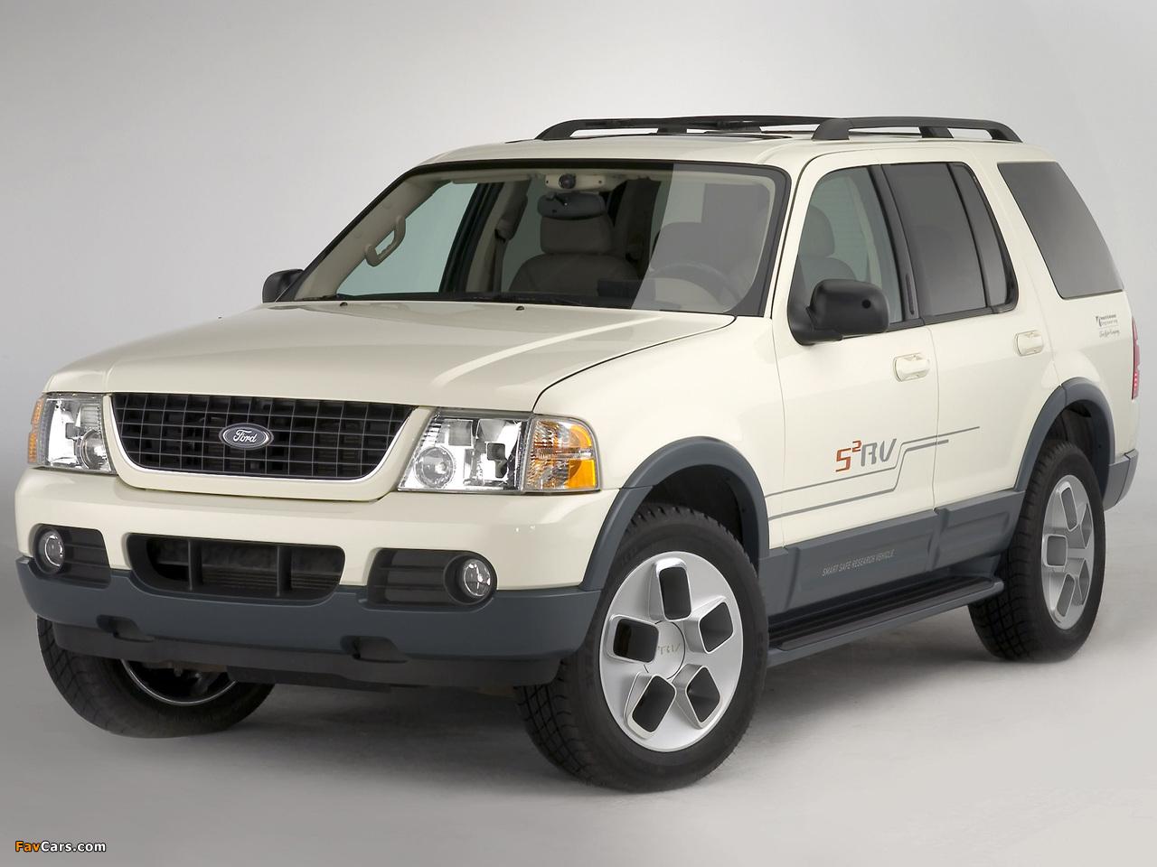Ford Explorer S2RV Concept 2003 photos (1280 x 960)