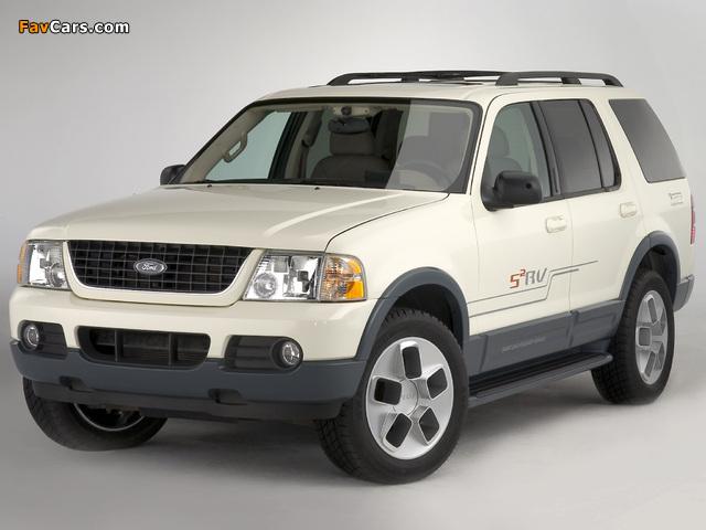 Ford Explorer S2RV Concept 2003 photos (640 x 480)