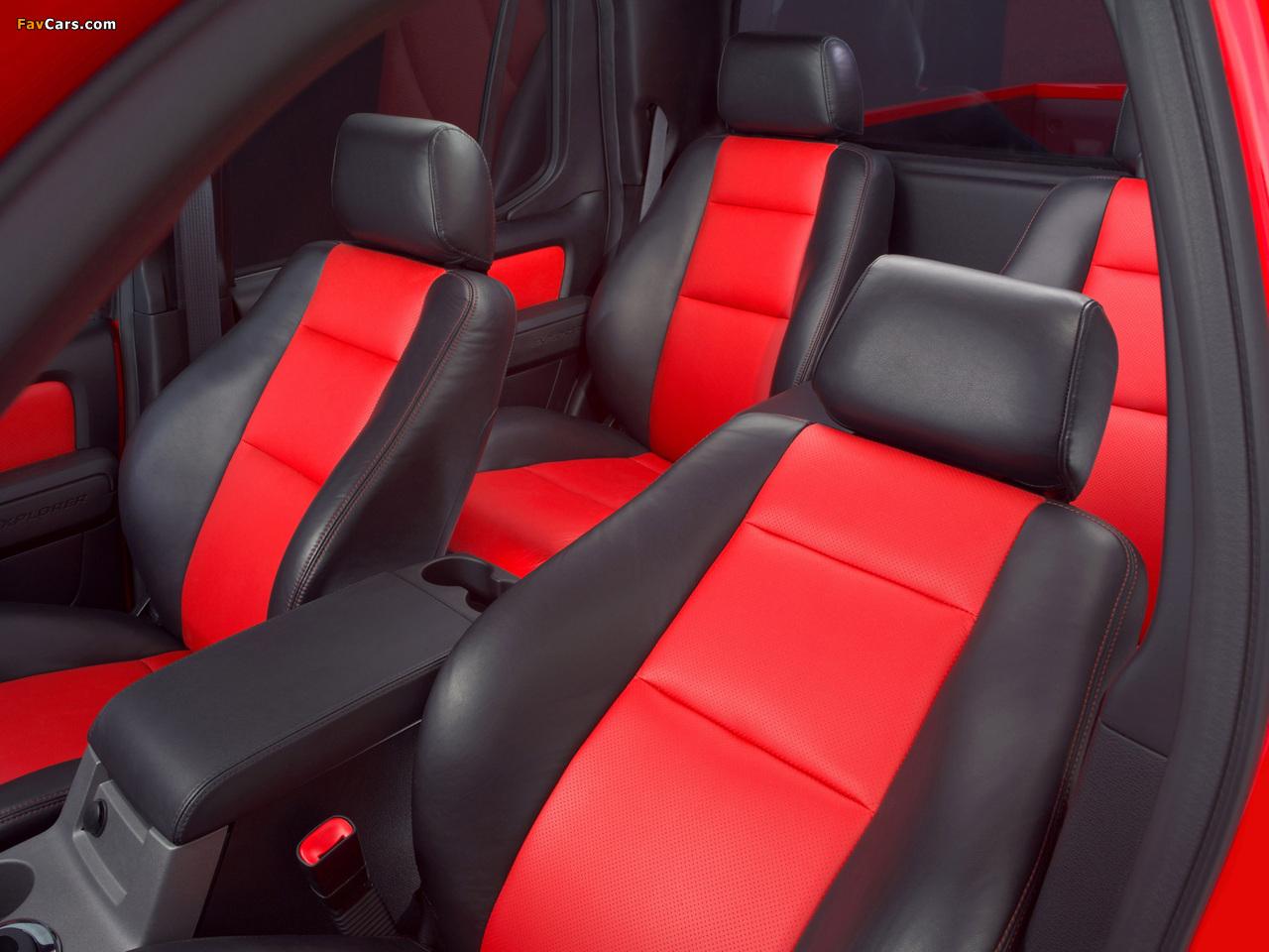 Ford SVT Explorer Sport Trac Adrenalin Concept 2006 wallpapers (1280 x 960)