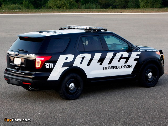 Ford Police Interceptor Utility 2010 images (640 x 480)