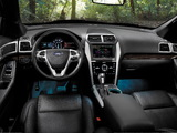 Ford Explorer Limited (U502) 2010–15 pictures