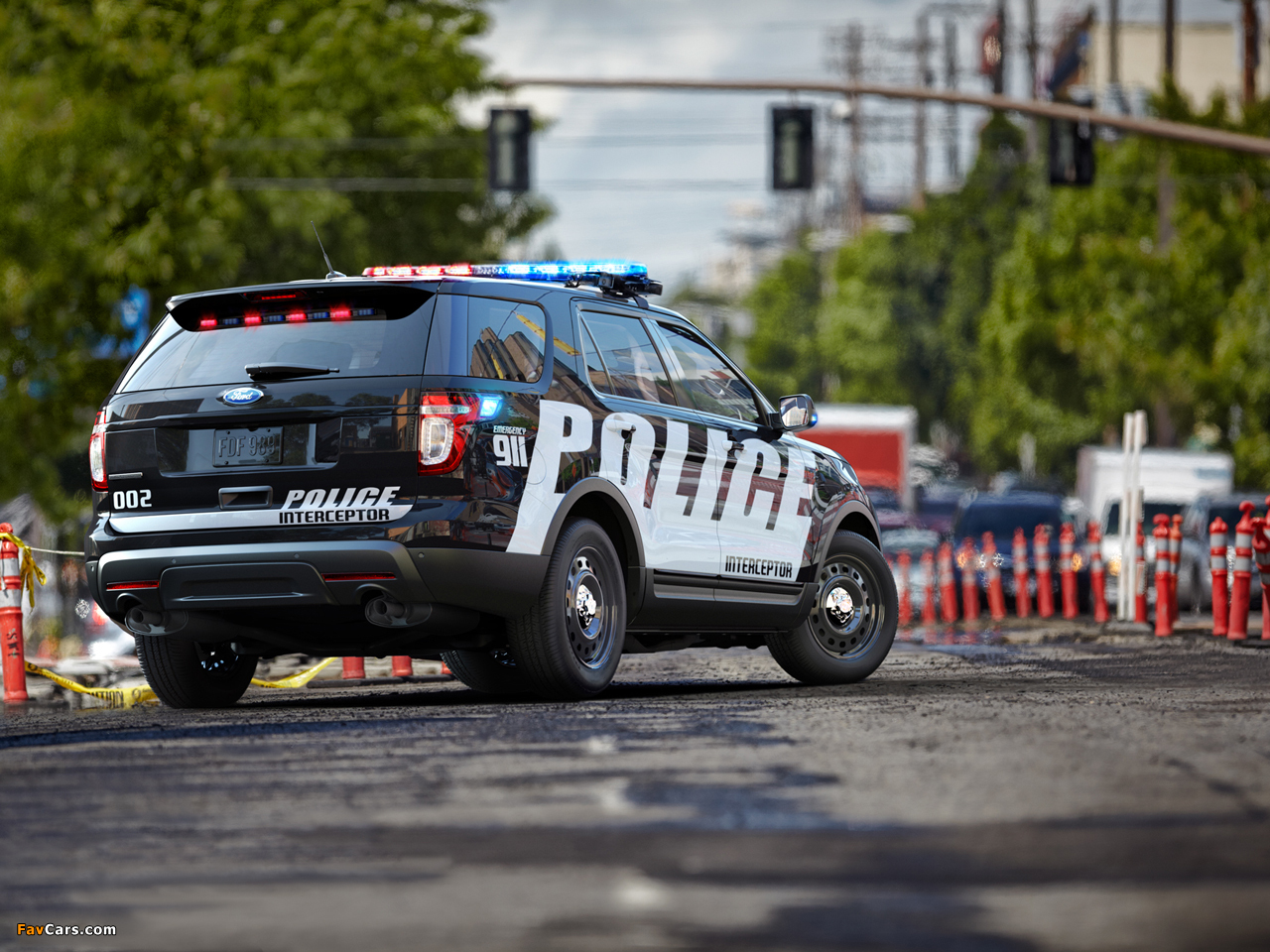 Ford Police Interceptor Utility 2010 wallpapers (1280 x 960)