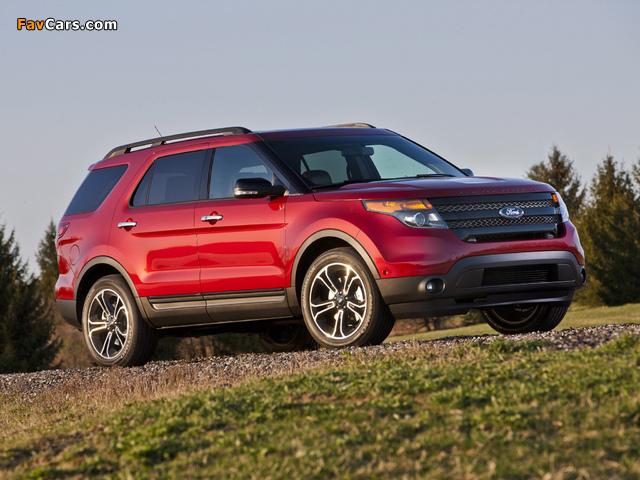 Ford Explorer Sport (U502) 2012 images (640 x 480)