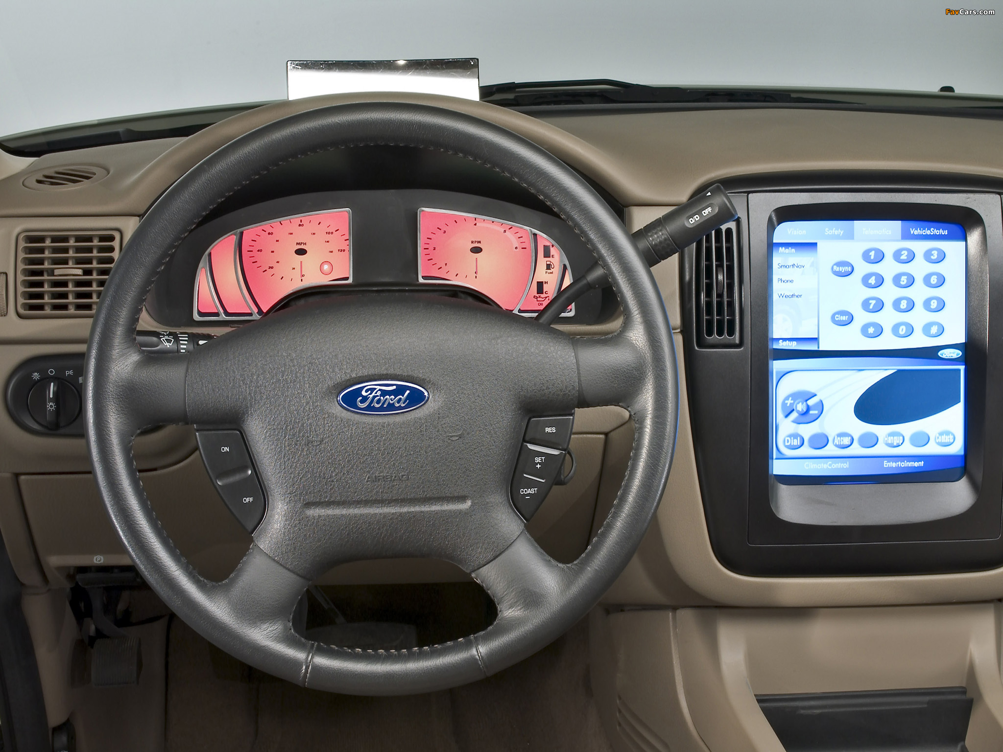 Images Of Ford Explorer SRV Concept X - 2003 explorer