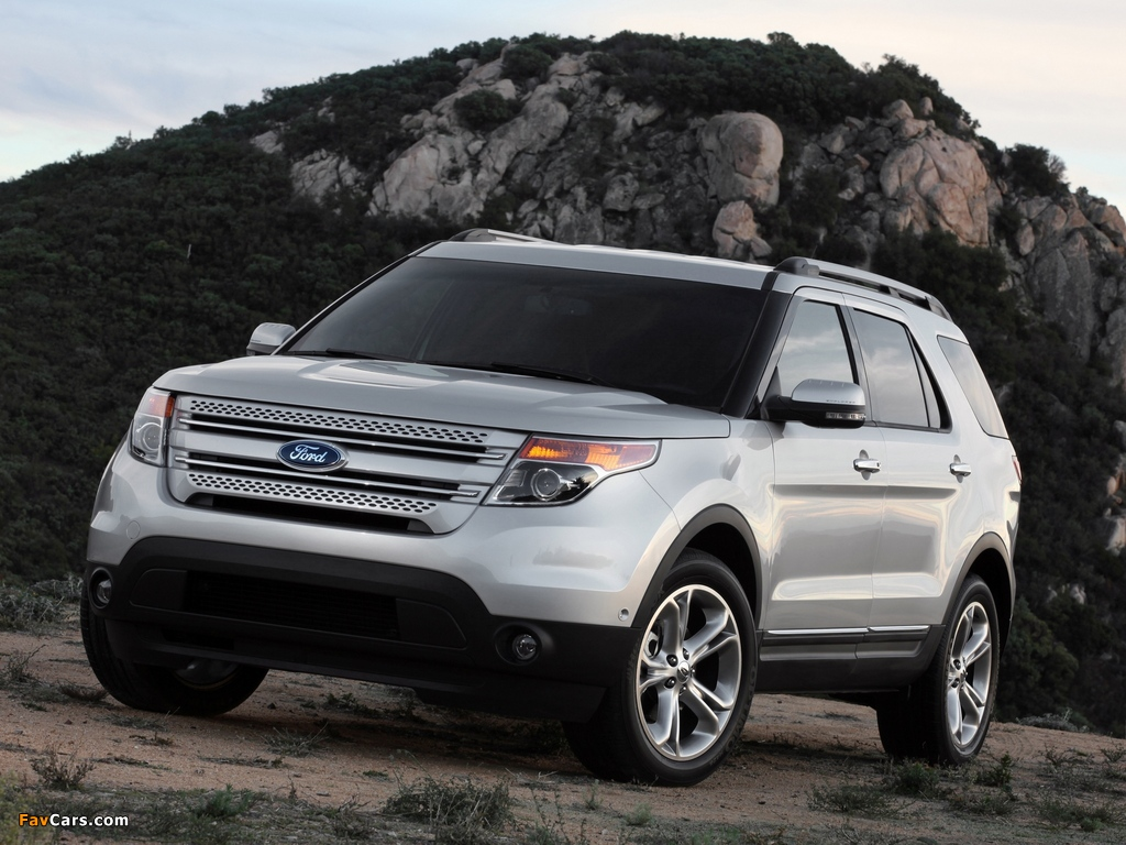 Images of Ford Explorer 2010 (1024 x 768)