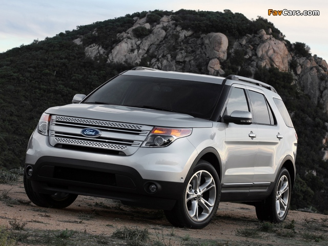 Images of Ford Explorer 2010 (640 x 480)