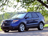 Images of Ford Explorer Limited (U502) 2010–15